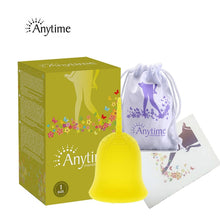 Load image into Gallery viewer, Anytime Feminine Hygiene Lady Cup Menstrual Cup Wholesale Reusable Medical Grade Silicone For Women Menstruation Collector