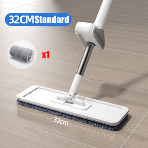 YOREDE Magic Squeeze Mop Lazy Free Hand Mop For Washing Floor Home And Kitchen Products Spin And Go Mops House Cleaning Cleaner