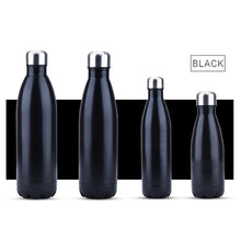 Load image into Gallery viewer, FSILE350/500/750/1000ml Double-wall Creative BPA free Water Bottle Stainless Steel Beer Tea Coffee Portable Sport Vacuum thermos