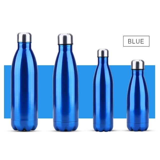 FSILE350/500/750/1000ml Double-wall Creative BPA free Water Bottle Stainless Steel Beer Tea Coffee Portable Sport Vacuum thermos