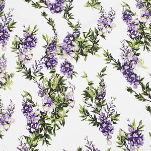flowers printed fabric,100% cotton fabric for women children clothing,purple flowers Cotton Fabric for Dress Sewing DIY material