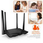 WiFi Router-Black-1200 Mbps