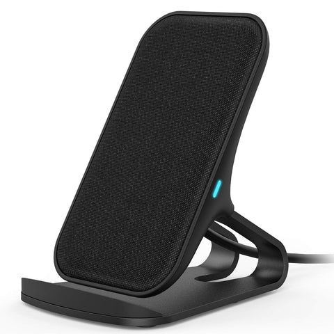Fast Charging Phone Charger-Wireless-Black