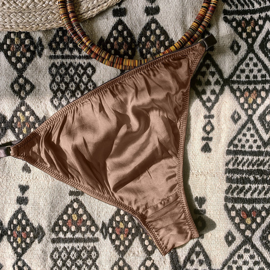 Ma'at Bronze Silk Tanga Brief_flatlay_back_Ihuoma