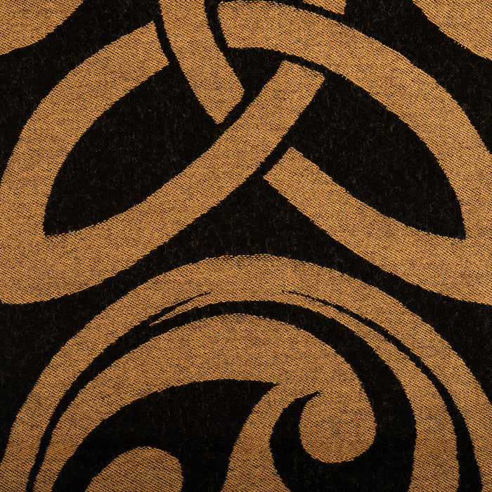 100% Wool Celtic Swirl Scarf