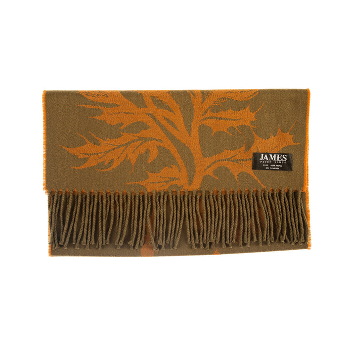 100% Wool Thistle Scarf Lodentan