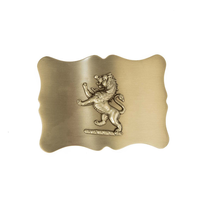 Ant Plain Lion Rampant Buckle