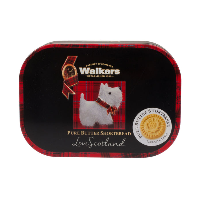 Scottie Dog - 130G Keepsake Shortbread Tin