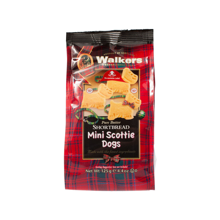 Shortbread Mini Scottie Dogs 125G