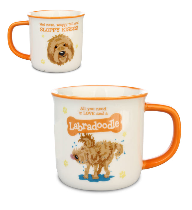 Top Dog/Cat Mug Labradoodle