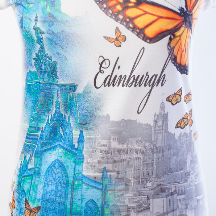 Safon Clothing Women's Monarch Edinburgh Paris T-Shirt