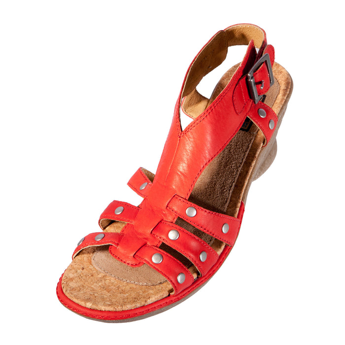 Women's Calla Leather Strapped Sandal