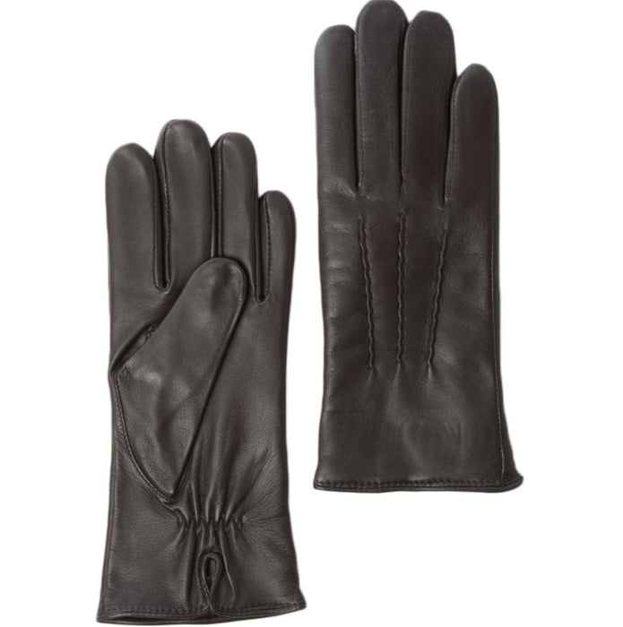 Women's Leather Gloves  Brown