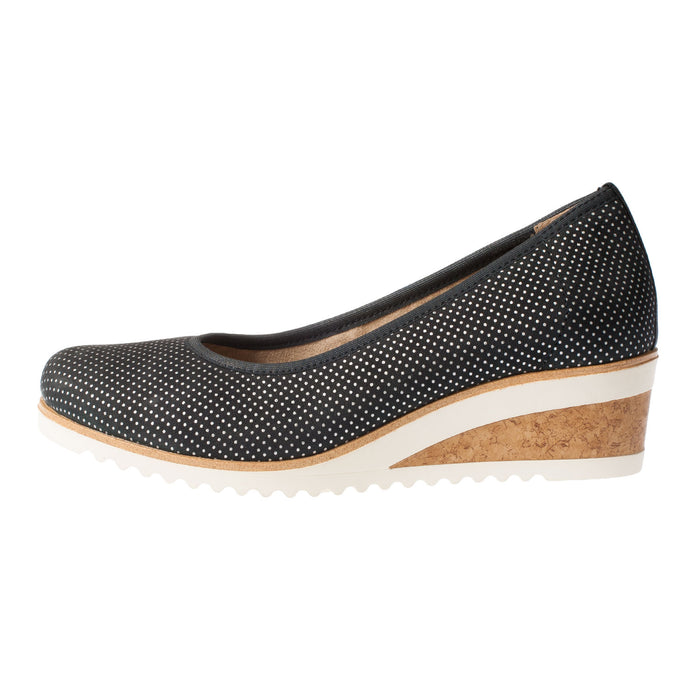 Women's D5500-14 Leather Wedge Shoe