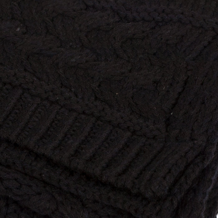 Aran Cable Knit Scarf
