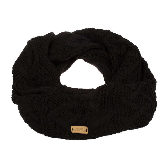 Ladies Cable Snood Scarf