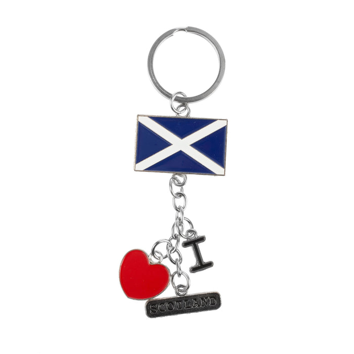 Keyring I Love Scotland