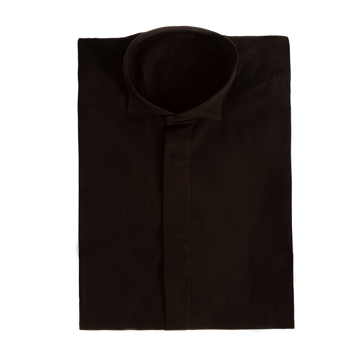 Victorian Collar Shirt Black