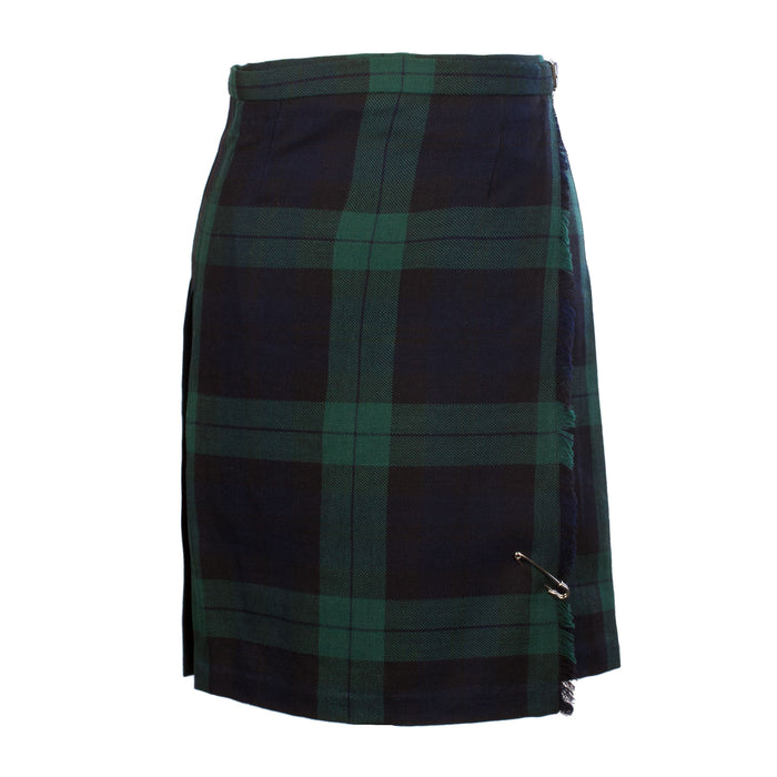 John Morrison Women's 12Oz Wool Knee Length Scottish Tartan Kilt