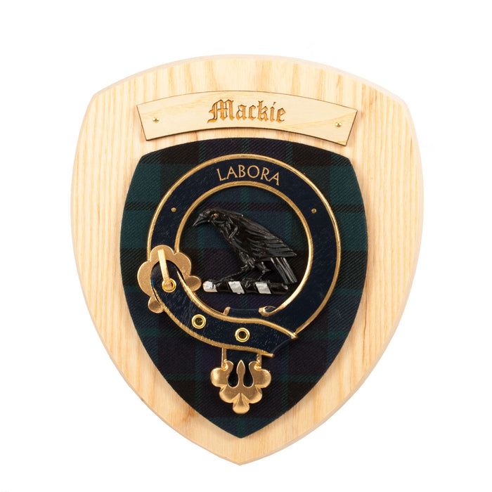 Clan Wall Plaque Mackie
