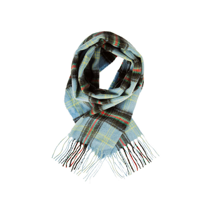 Cashmere Scottish Tartan Clan Scarf  Bell Of The Borders