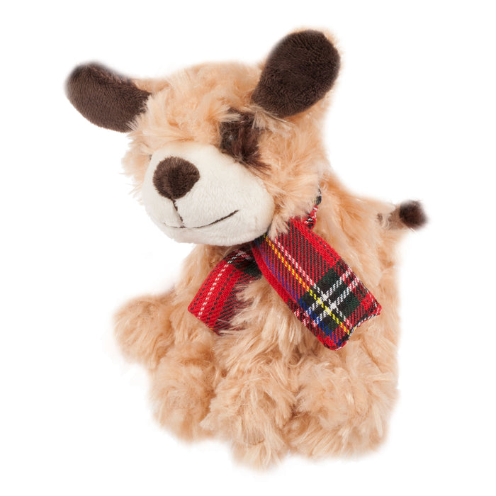Soft Toy Dog With A Scarf