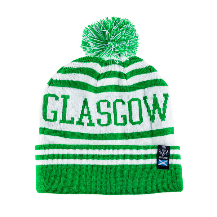Glasgow Bobble Hat Green