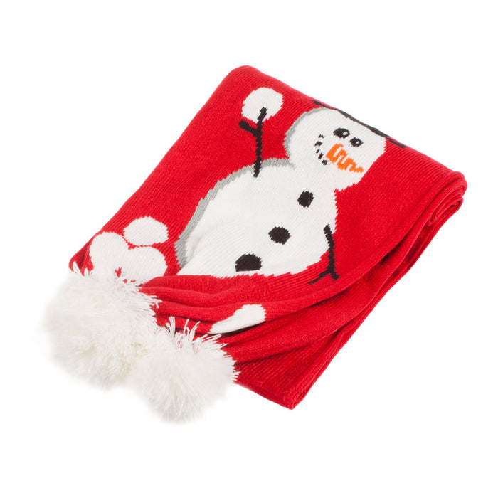 Junior Scarf Snowman