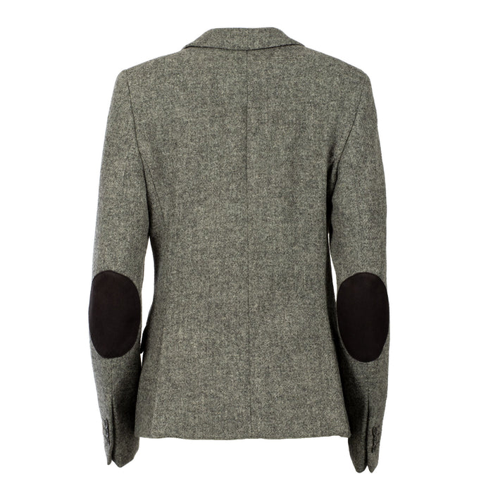 Women's Harris Tweed Iona Jacket  Lt Grey