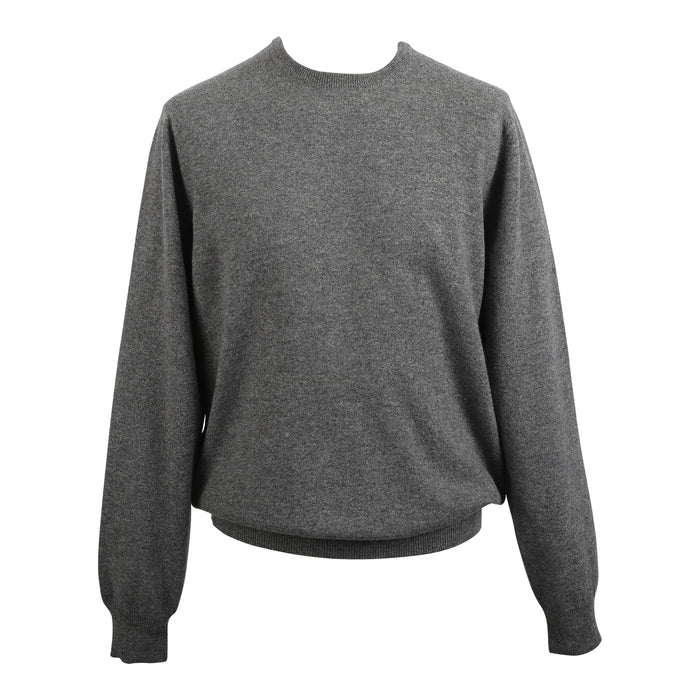 Men's Dunedin Cashmere 100% Cashmere Cr  Derby Grey