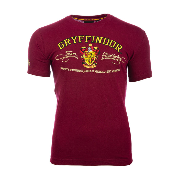 Harry Potter - T-Shirt - Gryffindor Quidditch Team Maroon