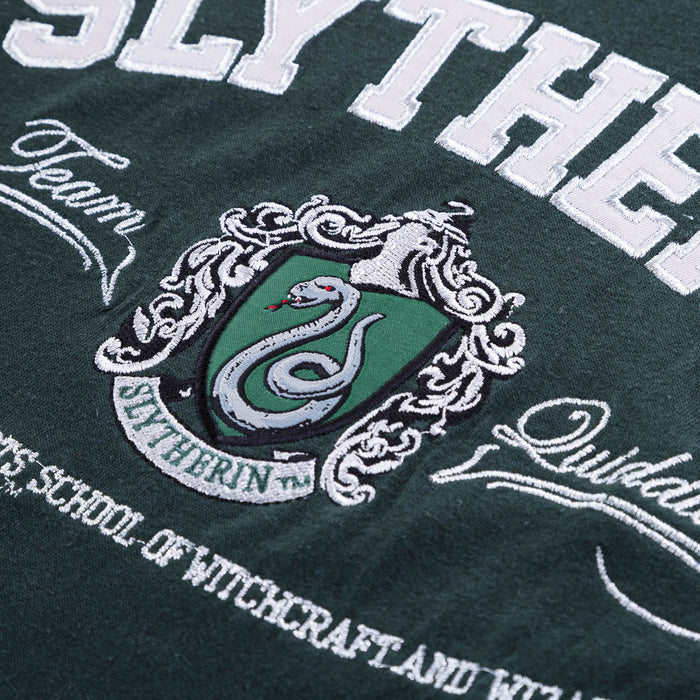 Slytherin Applque Unisex Tee Shirt Green