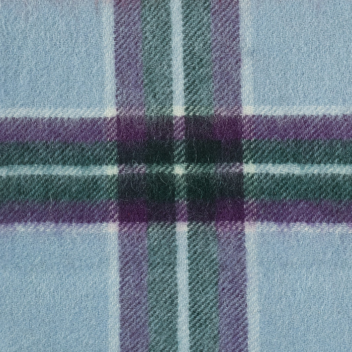 Edinburgh Cashmere Mini Scarf  World Peace Tartan