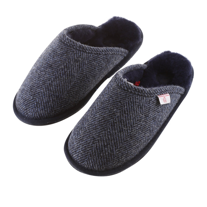 William Harris Tweed Slipper
