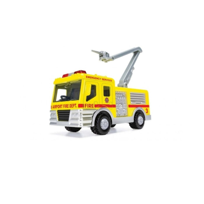 Chunkies Toy Vehicle Airport Fire Crane Snorkel Uk