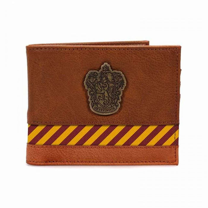 Wallet - Hp (Hogwarts Crest Metal)