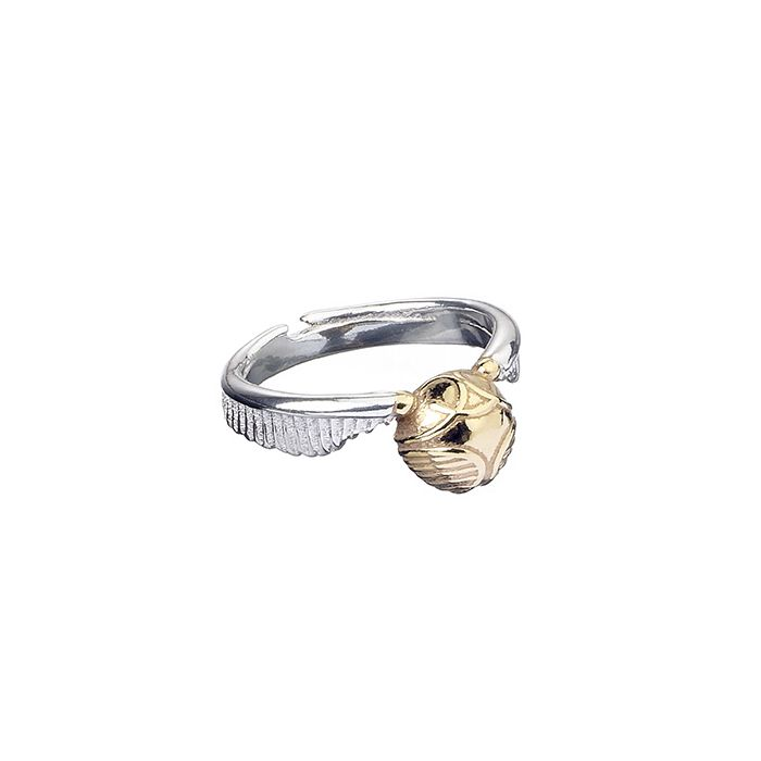 Official Harry Potter Stainless Golden Snitch Ring