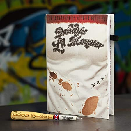 Harley Quinn Notebook And Pen