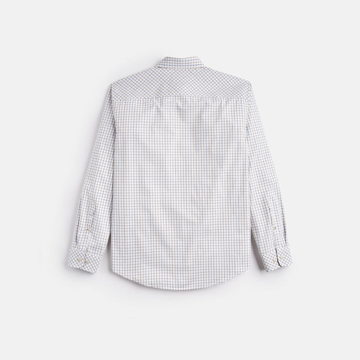 Men's Joules Welford Classic Fit Shirt White Multi Check