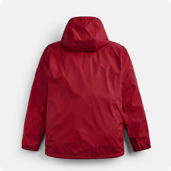 Men's Joules Portwell Lightweight Waterproof Jacket Red