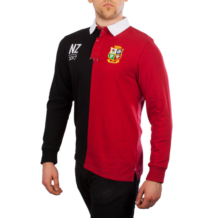 Lions Long Sleeve Tour Rugby Shirt