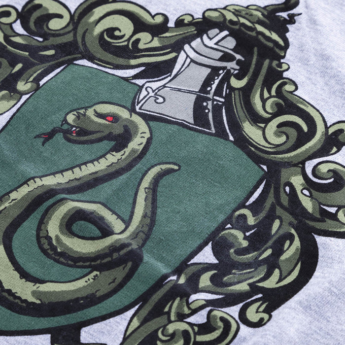 (S)Slytherin Crest Tee Kids Grey
