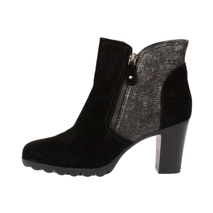 Women's Diply N Love Heeled Suede Ankle Boot