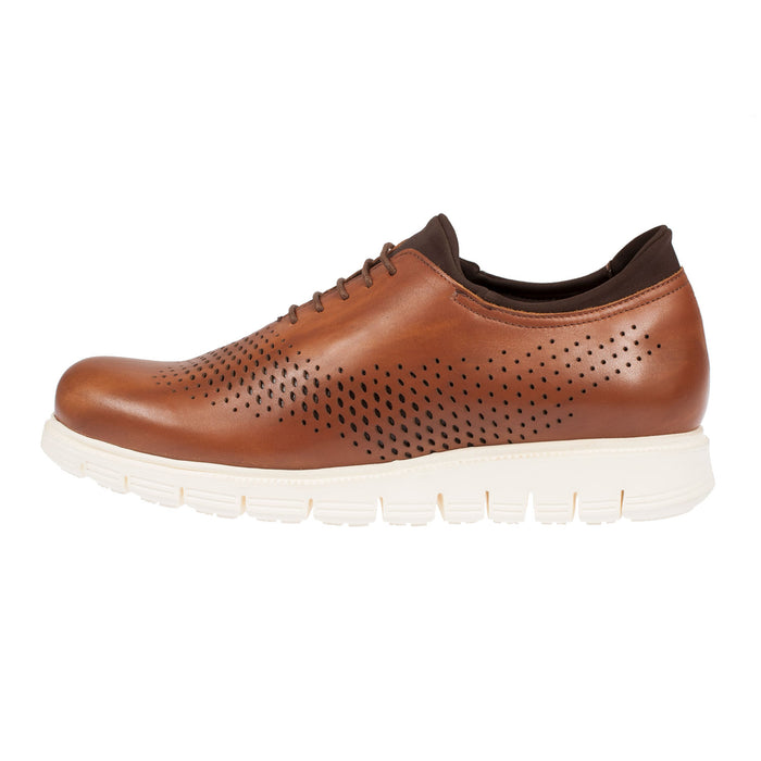 Women's Leather Lace-Up Casual Shoe