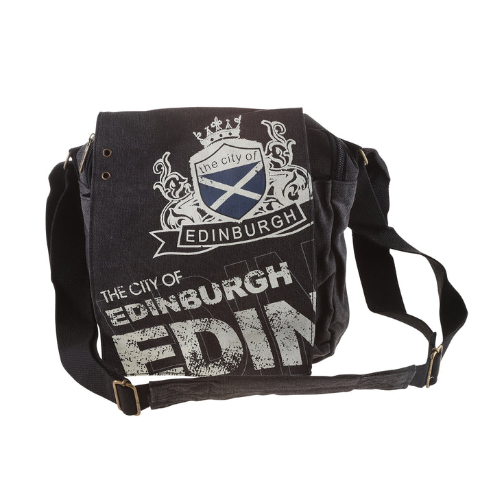 Alex Messenger Bag Crest Edinburgh