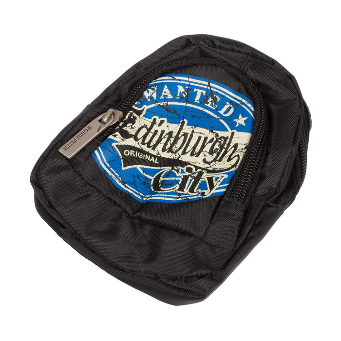 Wanted Edinburgh City Pocket Pouch Black