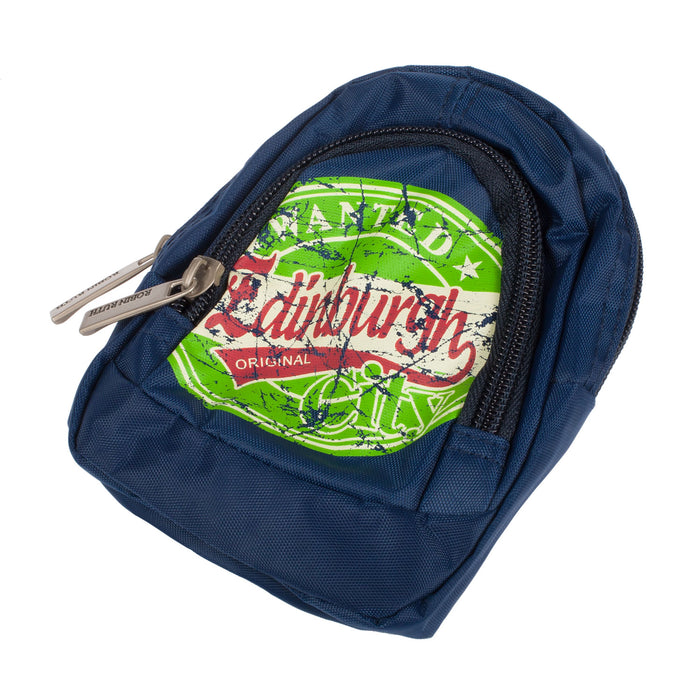 Wanted Edinburgh City Pocket Pouch Navy
