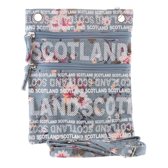 Charlie Shoulder Bag Flower Scotland