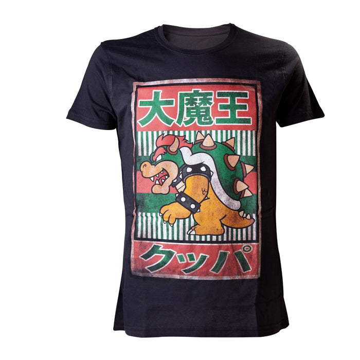 Black Bowser Kanji Men's T-Shirt