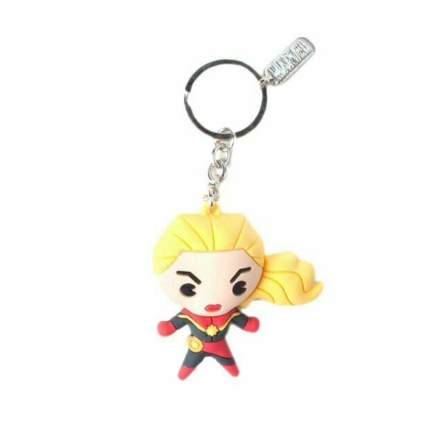 Captain Marvel Kawaii 3D Keychain